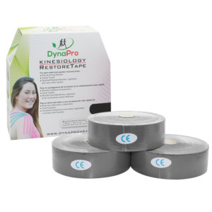 RestoreTape - 31.5m Roll of K Tape - Black