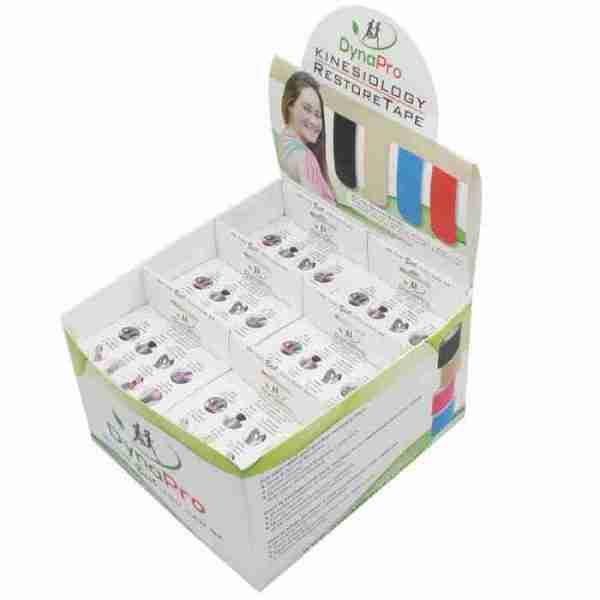 DynaPro Kinesiology RestoreTape -Regular Roll - Beige - Display Box