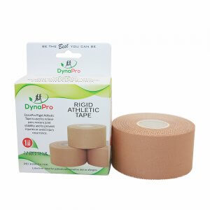 DynaPro Rigid Athletic Tape- a latex free strapping tape