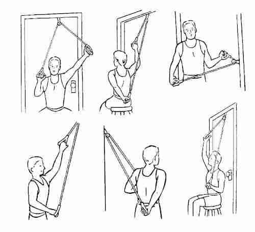 Shoulder Pulley Excercises